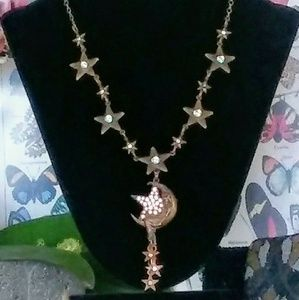 Necklace Moon & Stars